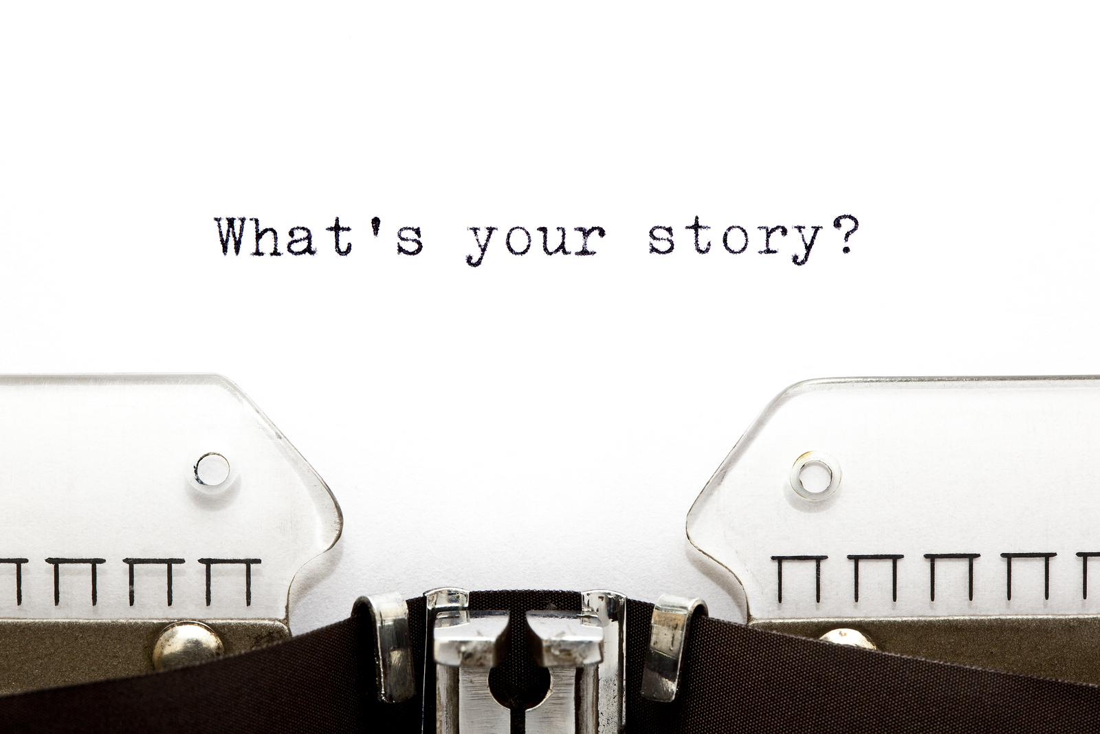 Typewriter What is Your Story
